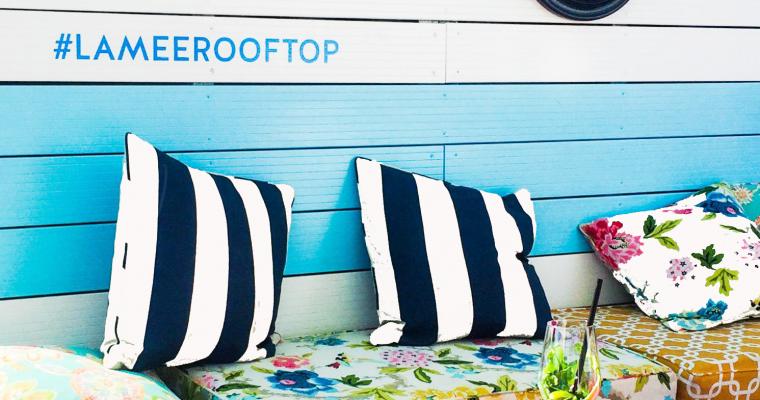 Hotspot: Hotel Lamee Rooftop Bar