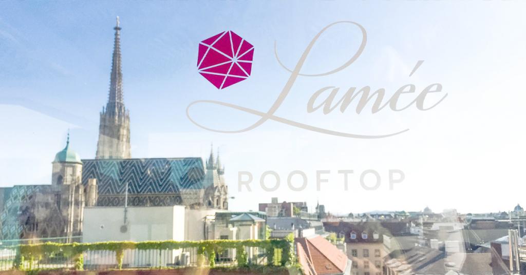 Eine der coolsten Rooftop Bars in Wien - Hotel Lamee