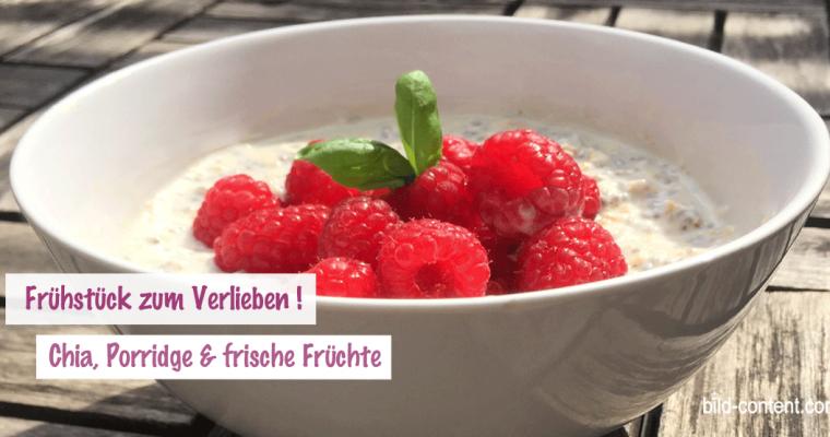 Veganes Frühstück: 2 Mal Beeren Power