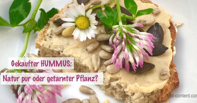 Wie natürlich ist Hummus aus dem Supermarkt?