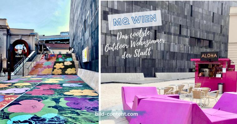 MQ Wien: das coolste Outdoor Wohnzimmer der Stadt