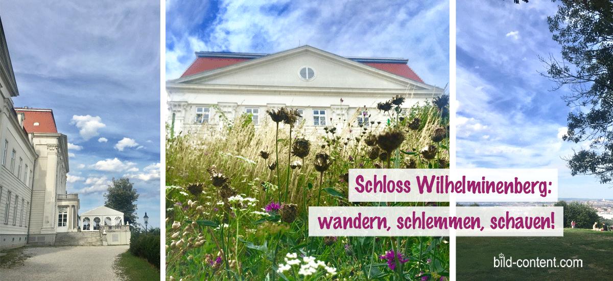 Wanderglück und Apfelstrudel am Schloss Wilhelminenberg