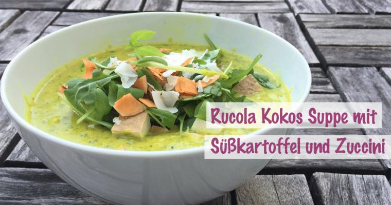 Vegane Rucola Kokos Suppe