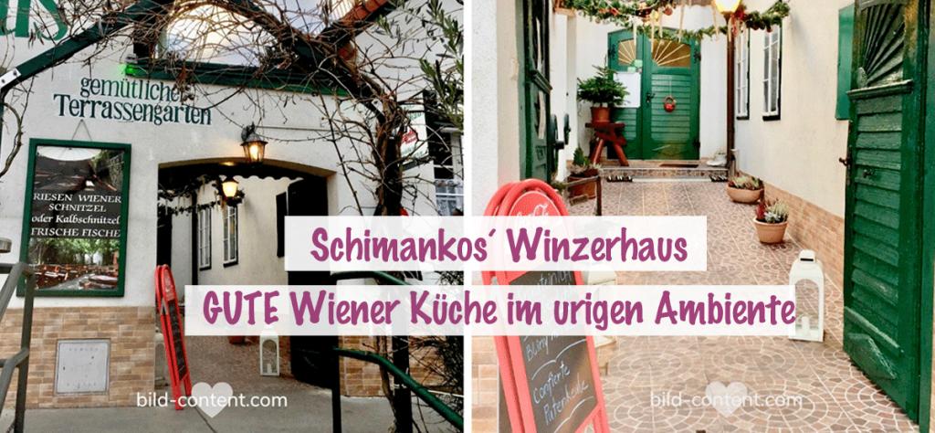 Schimanko´s Winzerhaus Heuriger in Wien