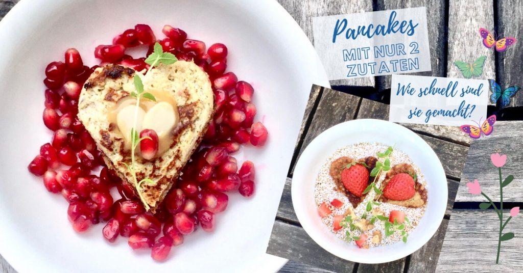 Pancakes mit nur 2 Zutaten. Bild: ©a.eishofer