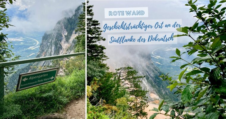 Skywalk Rote Wand am Dobratsch