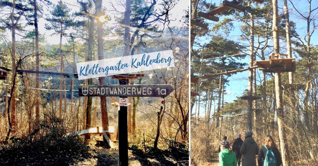 Statdwanderweg 1a Waldseilpark Kahlenberg