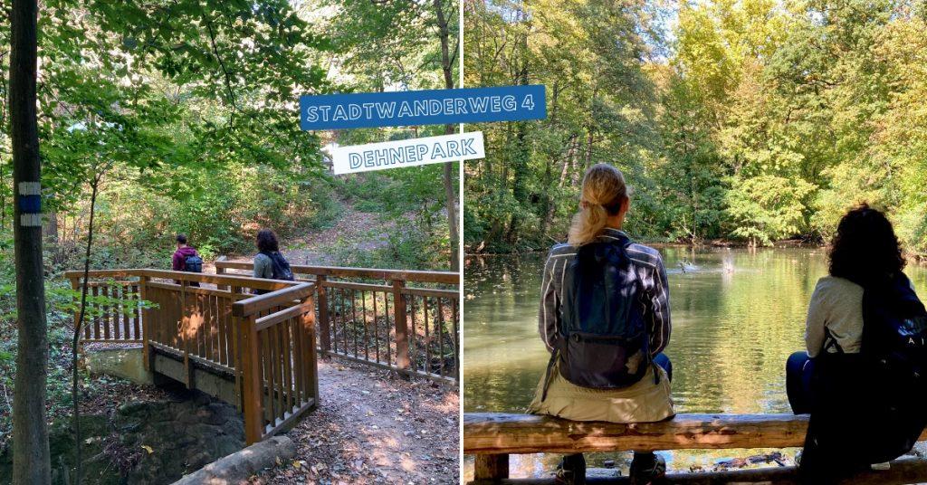 Wien Dehnepark Dehneteich Stadtwanderweg 4
