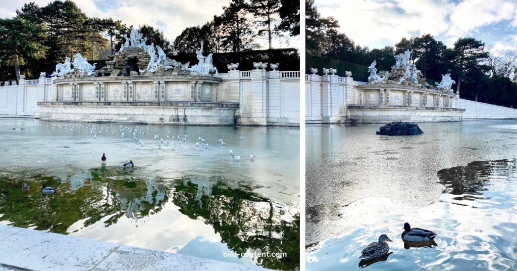 Schönbrunn Neptun Brunnen ©astrid eishofer