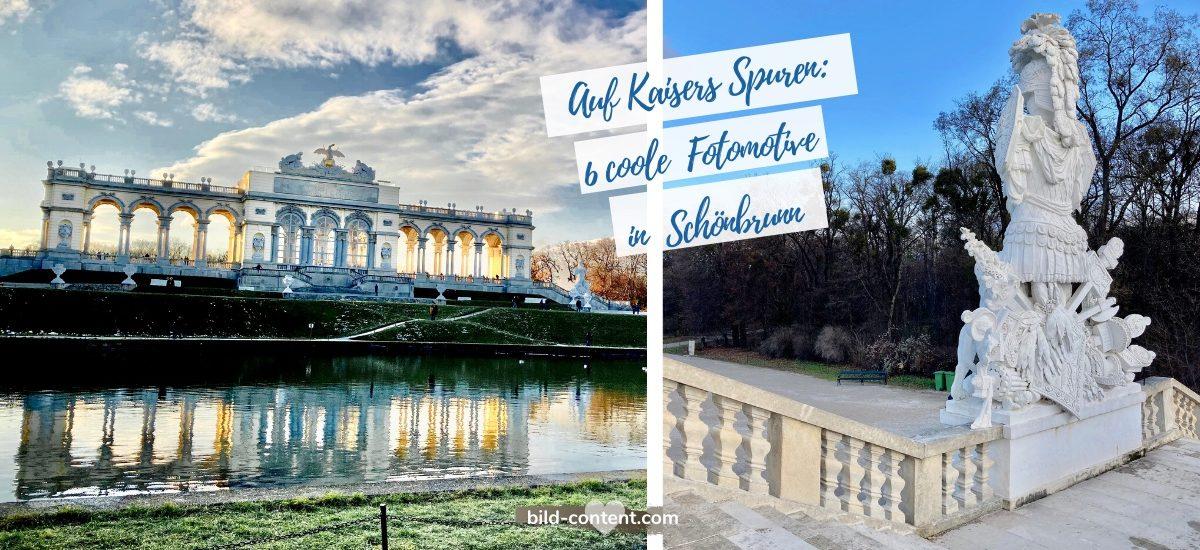 Schönbrunn: 6 kaiserliche Fotomotive vom Schloss bis zur Gloriette