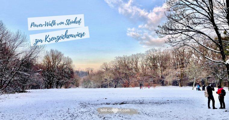 Power Walk: Feuerwache Steinhof – Ottakringer Wald – Kreuzeichenwiese