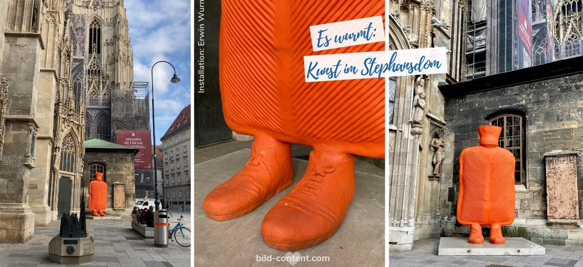 Kunstprojekt: Erwin Wurm im Wiener Stephansdom